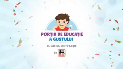 Mega Image - Portia de educatie a gustului, cu mega distractie