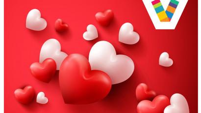 Veranda Mall sărbătorește Valentine's Day și Dragobetele cu o mulțime de premii pentru cupluri