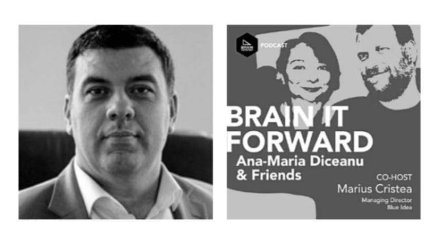 [Podcast Brain it Forward] Provocarile pandemiei prin ochii lui Marian Seitan, CEO Mediapost Hit Mail