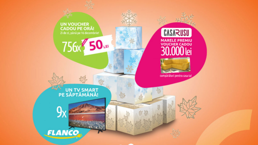 Centrele Comerciale Auchan și Aushopping au dat startul Sărbătorilor în octombrie, printr-o campanie de marketing experiențial și performant marca Perceptum