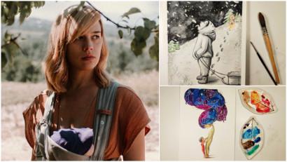 [Art & Magic] Anca Pop: Multi se inclina catre ilustratii ca forma de comunicare. Ambalaje de iaurt cu flori pictate in acuarela, cosmetice care folosesc ilustratii pentru a aduce publicul mai aproape