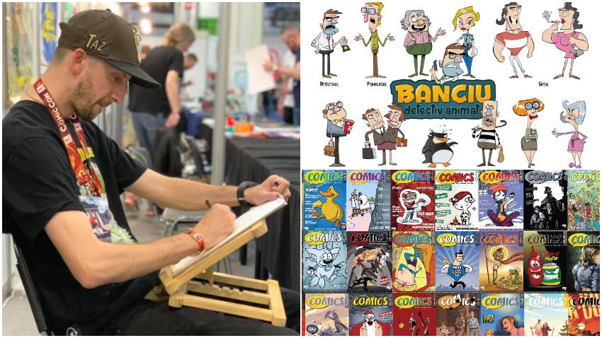 Octav Ungureanu: Imi lipseste desenatul oamenilor pe strada, acum doar ochii li se vad din spatele mastilor... si unora gleznele
