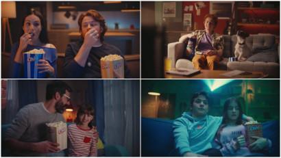 Brands & Bears ne inspira sa vedem filmele pe gustul nostru, cu cel mai nou spot Chio Popcorn