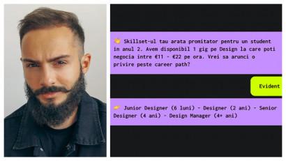 Iulian Maftei: Provocăm studenții să renunțe la CV-uri și să își deschidă un profil pe baza unui elevator pitch