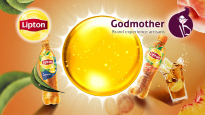 Relationship status: Lipton & Godmother.Godmother devine agenția de brand Lipton Ice Tea