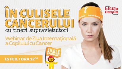 Webinar @ Little People | 5 tineri supraviețuitori de cancer împărtășesc propriile experiențe de luptă împotriva cancerului