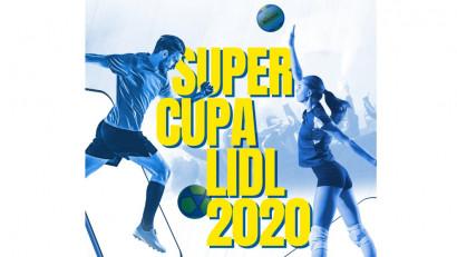 WOPA și Lidl au reinventat fotbalul (și voleiul)! Cum a arătat prima ediție a SuperCupei Lidl offline-online?