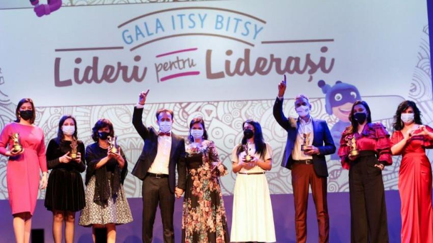 7 Lideri pentru Liderași au câștigat trofeele anului la GalaItsy Bitsy2021