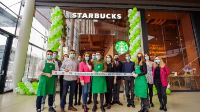Starbucks deschide o nouă cafenea în Brașov