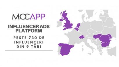 Țintă MOCAPP 2021:2000 de influenceri, 5 țări și 1000 de contracte