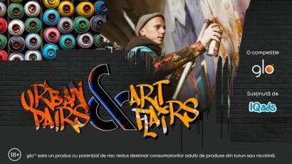 Artiștii viitorului sunt doriți la glo Urban Pairs & Art Flairs
