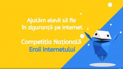 Competiția Națională Eroii Internetului: Elevii învață cum pot fi în siguranță pe internet
