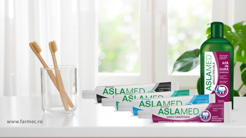Farmec modernizează gama AslaMed și lansează un nou produs
