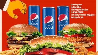 O nouă ofertă lansată de Burger King.Meniul Family – oferta pentru toată familia, disponibilă exclusiv la delivery