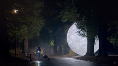 Partea intunecata a lunii dezvaluita