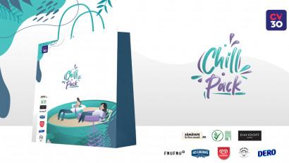 Chill Pack: Branduri de top contribuie la starea de bine a profesioniștilor din peste 120 de companii