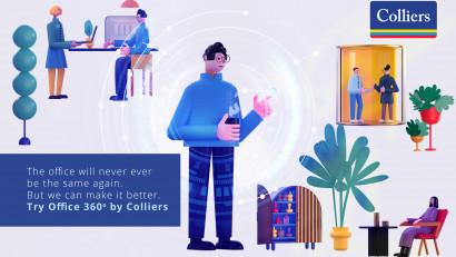 Colliers lansează Office 360°, o soluție unică pentru crearea birourilor viitorului
