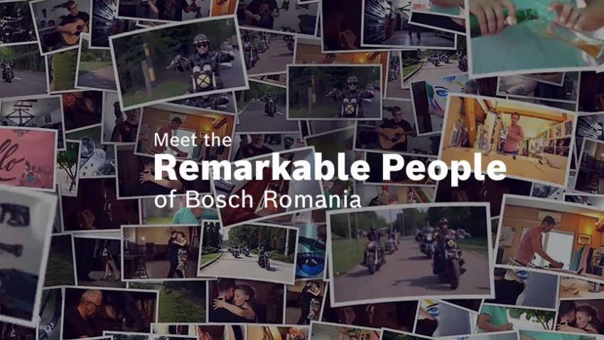 Remarkable People of Bosch Romania. Dumitrița Ghenciu: Am pornit această campanie din curiozitatea de a afla cum sunt oamenii, fără scenariu sau un mesaj prestabilit