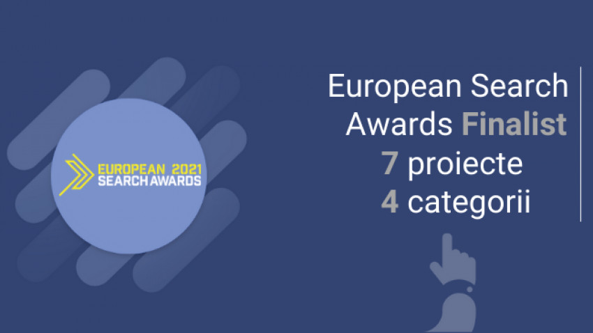 Echipa WebDigital - finalista la European Search Awards 2021 cu 7 proiecte la 4 categorii