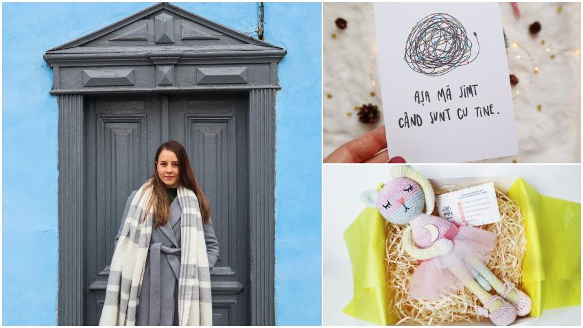 [Noii artizani] Maria Ștefana Diaconu: Mintea mea este ca o masina de spalat. Vesnic se invart ideile si uneori ma entuziasmeaza atat de tare ca nu stiu de ce sa ma apuc mai intai