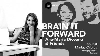 [Podcast Brain it Forward] Cum reușește un manager să-și împartă timpul, cu Monica Cadogan, CEO & Founder @ Vivre