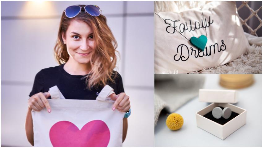 [Noii artizani] Oana Brătilă: Am căutat să lucrez accesorii care transmit emoție, iubire, conexiune, empatie
