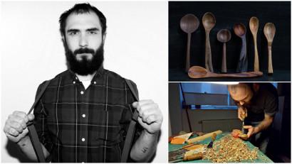[Noii artizani] Andrei Cornea: Fiecare lingura este unica. Asta este frumusetea. Cand un obiect devine al tau si tu il folosesti, devine parte din tine