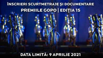 Premiile Gopo 2021:apel de înscrieri pentru categoriile de documentar și scurtmetraj