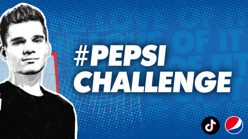 Football with #Pepsi on TikTok. Who's going to duet Messi and Ianis?