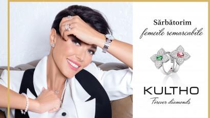 În luna femeilor, Kultho – Forever Diamonds lansează campania 'Sărbătorim Femeile Remarcabile!'