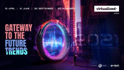 Virtualized, primul concept de expo-conferințe online din România, își anunță calendarul de evenimente 2021