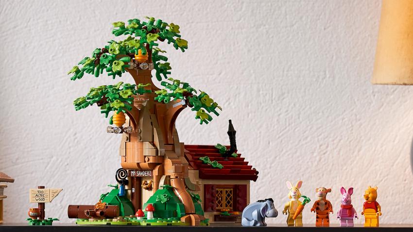 Grupul LEGO mizează pe nostalgie cu noul setLEGO® IDEAS Winnie the Pooh