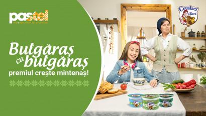 """Coana Chiva aduce premii mari în noua campanie """"Covalact de Țară"""", semnată pastel"""