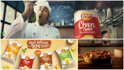 [Snacking Zone] To snack or to snack? Placerea nevinovata a gustului cu Lay's Rumeniti in Cuptor, cu 50% mai putine grasimi