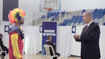 Premierul israelian face orice pentru a convinge oamenii să se vaccineze. Chiar și o reclamă