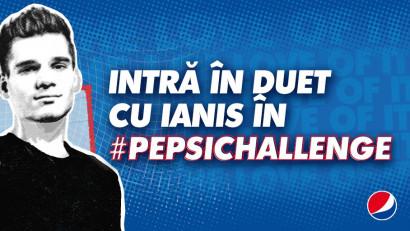 Fotbal cu #Pepsi pe TikTok. Cine intră în duet cu Messi și Ianis?