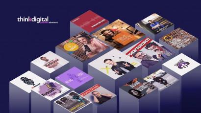 Rețeaua de publicitate în podcasturi lansată de Thinkdigital a ajuns la 65 de producții și o audiență cumulată de 1.3 milioane de ascultări + vizionări pe episod. Cine sunt noii realizatori cunoscuți care s-au alăturat rețelei?