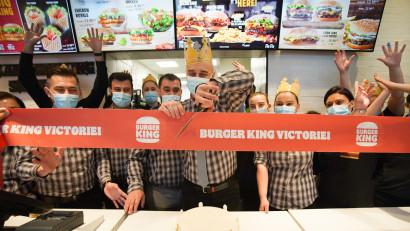 AmRest deschide în Piața Victoriei cel de-al șaptelea restaurant Burger King din București