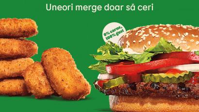 Burger King, primul restaurant cu servire rapidă din România care introduce în meniul său produse Plant-Based