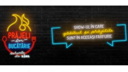 Prăjeli în Bucătărie. Un nou show marca Lidl, care schimbă rețeta cooking show-urilor de pe internetul românesc