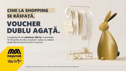 NEPI Rockcastle anunță campania de Paște, Cine la shopping se răsfață, voucher dublu agață, în 17 centre comerciale din portofoliul local