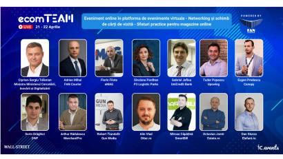 Ultimele zile de înscrieri la ecomTEAM 2021: peste 20 de speakeri confirmați și 5 workshop-uri gratuite pentru eCommerce