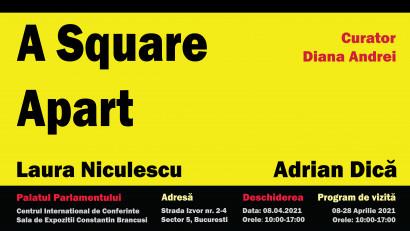 Un pătrat distanță | Laura Niculescu & Adrian Dică