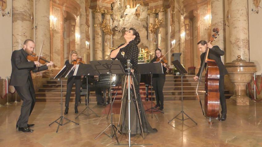 Concertul de închidere a turneului internațional JAZZT Vivalditransmis online de la Biserica Sfântul Carol din Viena