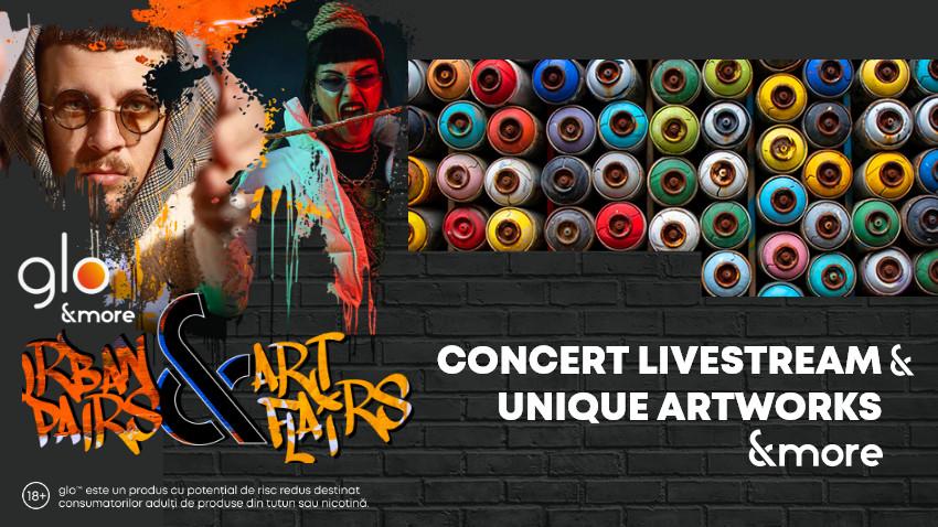 Salutări din viitor. Muzică, show, artă și fashion urban la glo™ Urban Pairs & Art Flairs