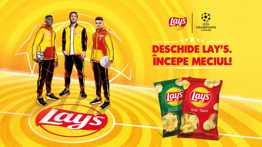 [Snacking Zone] Lay's, Ianis & Messi aduc bucuria de pe stadion în casele tuturor