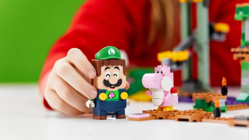 Grupul LEGO îi aduce împreună pe Mario și Luigi în noul set LEGO® Super Mario™ - Aventurile lui Luigi