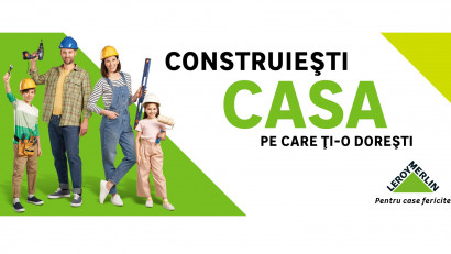 """Leroy Merlin lansează noua campanie """"Pentru case fericite"""". Conceptul creativ poartă semnatura Ogilvy România"""