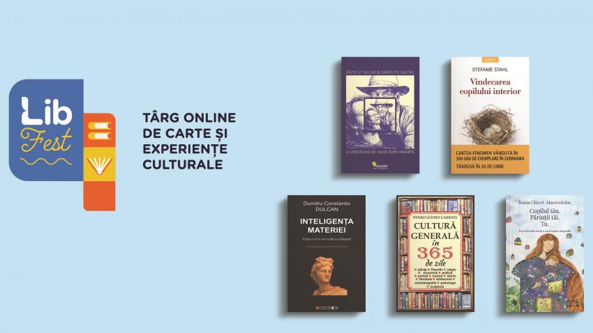 3 români, în topul celor mai vânduți autori la LibFest.Media comenzii pe Libris.ro, cu 30% mai mare decât într-o zi obișnuită