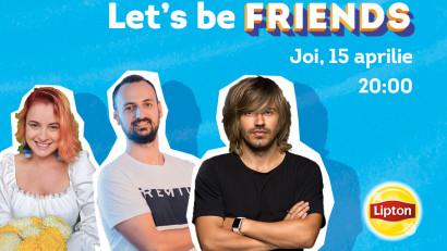 Let's be FRIENDS on Clubhouse. Lipton Ice Tea anunță primul room din Clubul Talks under the Sun